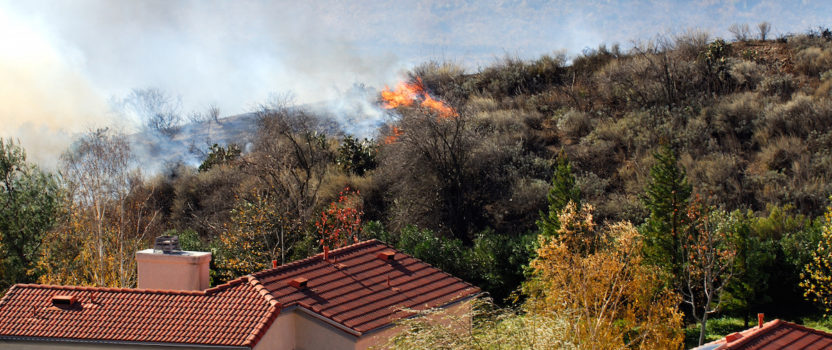 """Fire Prevention: 10 Ways to Create """"Defensible Space"""""""